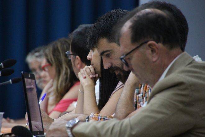 Concejales de los cinco grupos de la Oposición de El Campello