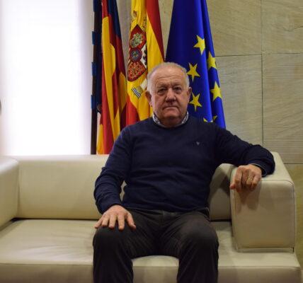 Sebastián Cañadas, alcalde de Mutxamel