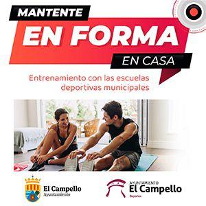 Clases online de deporte en El Camepllo
